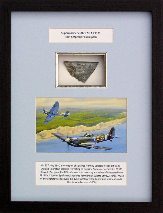 British World War 2 - Spitfire Time Team P9373 - Ancient Wonders